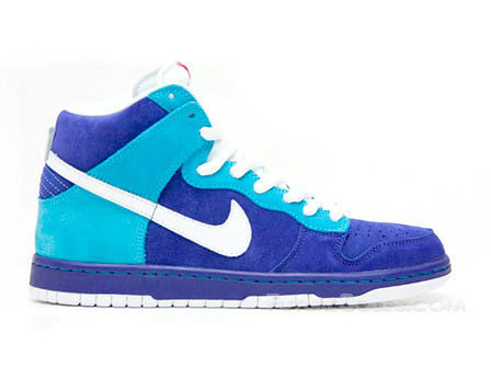 nike dunks high tops blue. Nike Dunk High Tops blue LOST
