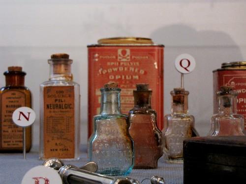 Opium vials