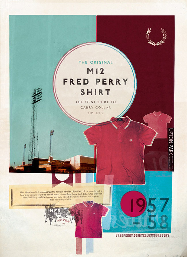 Fred Perry - Tell us your story