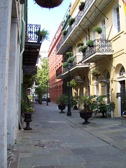 Typical New Orleans architecture