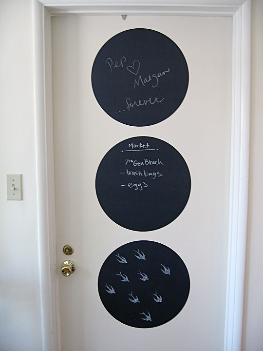 chalk dots+chalkboard+decor+miu miu swallows -door