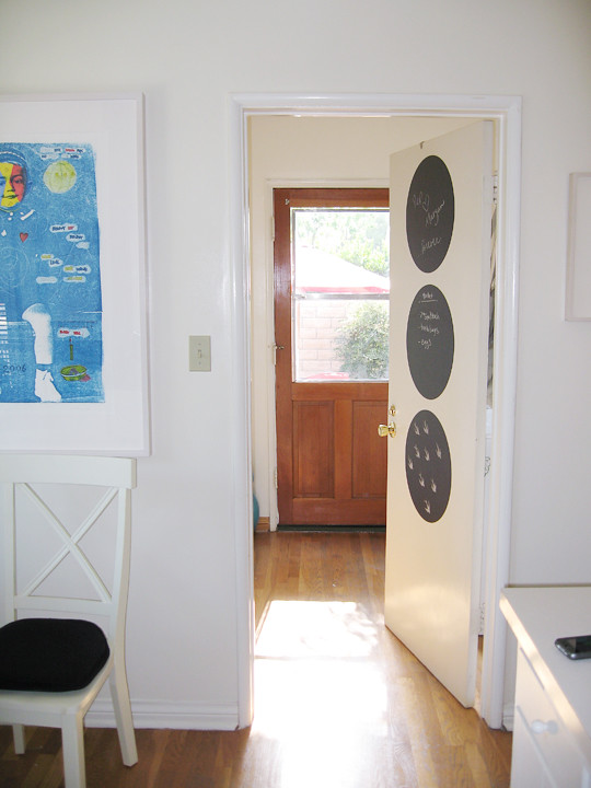Kitchen+Laundry Room+Chalkboard Dots+removable chalkboard decal -4