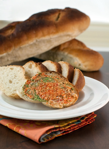Tri-Color Vegetable Pate