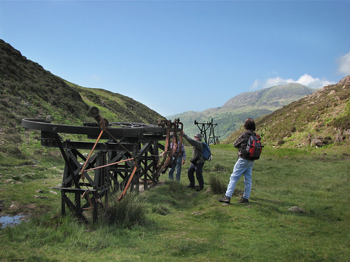 Old mine machinery