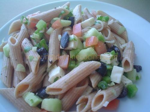 Ensaladas Light de Verduras Ensalada de Pasta Con Verduras