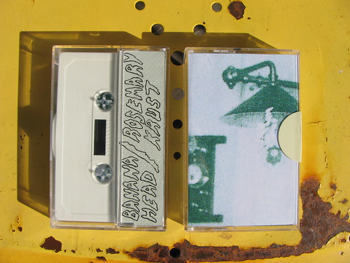 Banana Head/Rosemary Krust - split - Goaty Tapes