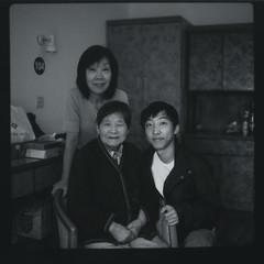 11 years later... (Rinthe) Tags: china old family portrait 6x6 film childhood square polaroid fuji memories hasselblad instant years 90 500cm  polaroidback fp100b polaplus panpola
