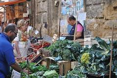Palermo market stall
