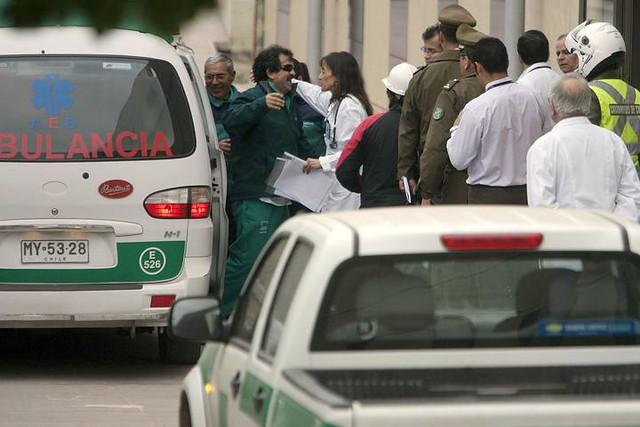 Thumb Ya dieron de alta a 3 mineros que salen del Hospital de Copiapó