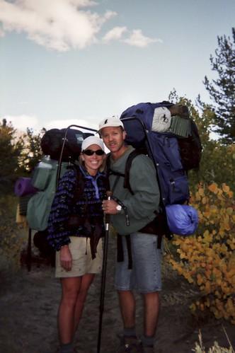 Sabrina Lake Trailhead ~ 1999