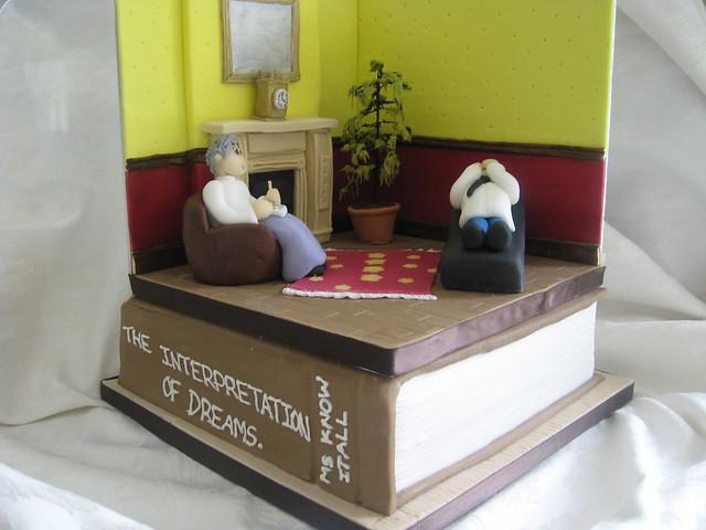 psychiatrist room cake