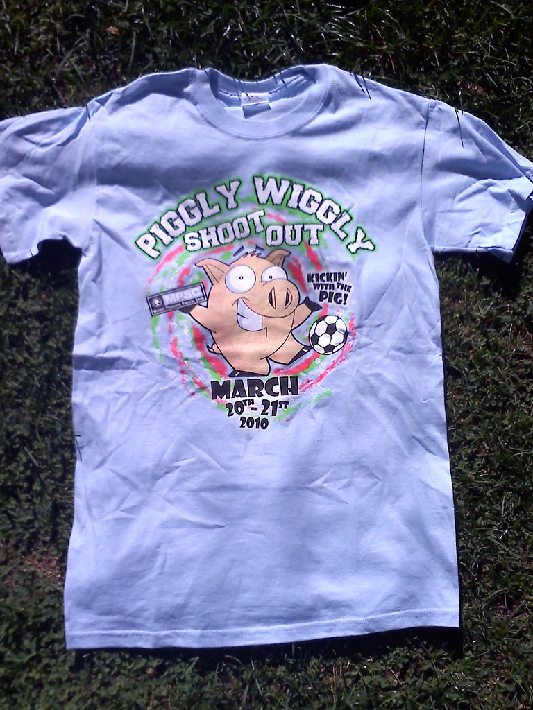 cheap screen printing for the Piggly Wiggly Shootout