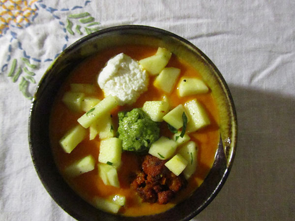 Spicy Carrot & Habeñero Soup