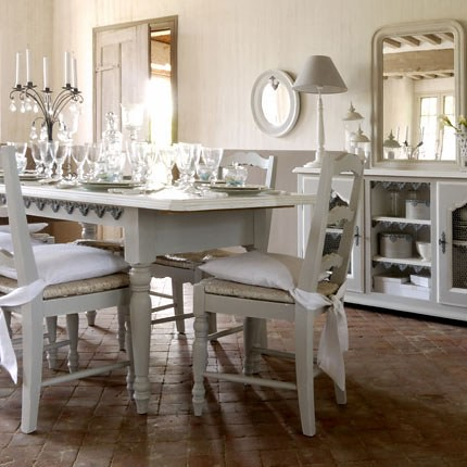Красивая белая посуда