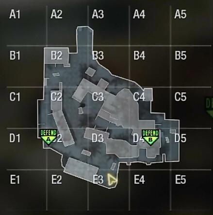 Firing Range Map