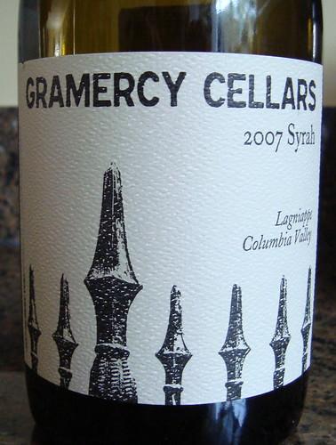 2007 Gramercy Cellars Syrah