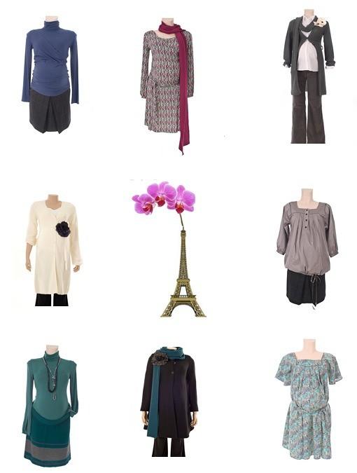 Pomkin, vestidos y conjuntos para embarazadas de la marca Pomkin, moda premamá y moda para periodo de lactancia
