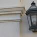 Light Fixture in the Belltower Building courtyard