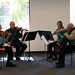 Channel Islands String Quartet performing at the Broome Library, March 2009.