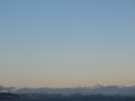 Camano Island and Mt. Baker