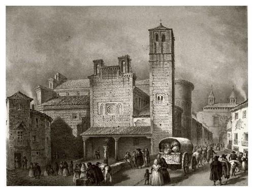024-Iglesia de Santiago-Toledo-Recuerdos y bellezas de España Castilla la Nueva Vol 2