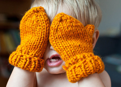 Super Quick Mittens | The Wife Knits