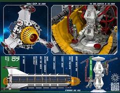 Queen Aurora 29 (messerneogeo) Tags: messerneogeo robot mech mecha ninja ganzo spaceship battleship queen aurora lego