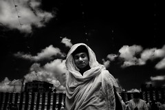 #9 (anandamohanpaul) Tags: 9 flickr 121clickscom monochrome people cloud blackandwhite kolkata street streetphotography
