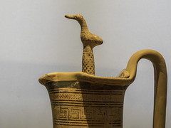"Greek Archaic Pottery –  LG Giant Oinochoe (egisto.sani) Tags: atene man museoarcheologiconazionale vasi oinochoe ""giant oinochoe"" ""dipylon painter"" ""pittore del dipylon"" ""attic pottery"" ""ceramica attica"" ""greek ""ceramica greca"" ""arte ""greek art"" ""late geometrical period"" ""periodo tardo geometrico"" ""lg athens ""national archaeological museum"" ""museo archeologico nazionale"" nm 811"