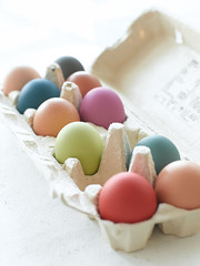 Painted Eggs (The Little Greene Paint Company) Tags: paint colours eggs paints paintedeggs colouredeggs