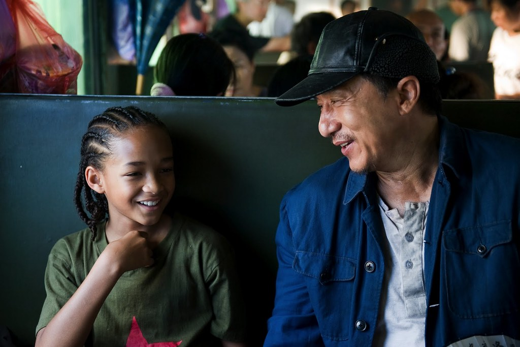 película Karate Kid Movie Jaden Smith y Jackie Chan