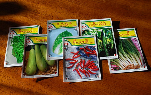 asian veggie seed packs