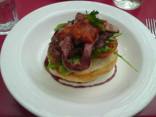 Jam Packed - Open Bacon Sandwich