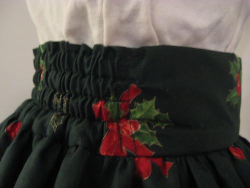 Christmas skirt 2009 009