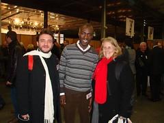 Fabrice Rizzoli, Ali Soumare, Chantal Chaintreau