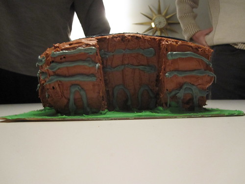 My building in cake form