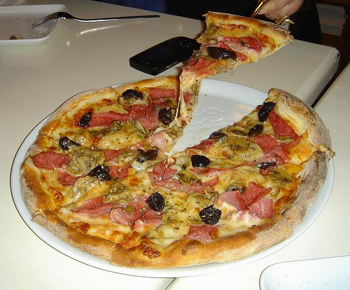 Olives Pizza