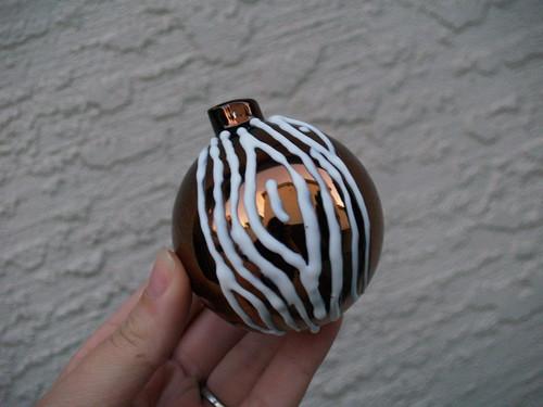 Faux Bois ornament Step 2
