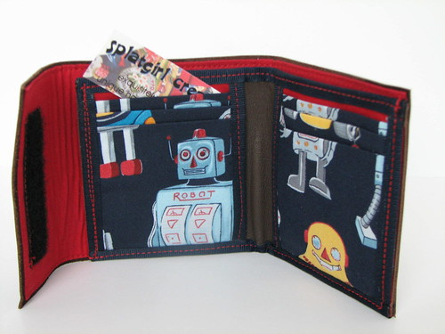 brown robot bifold