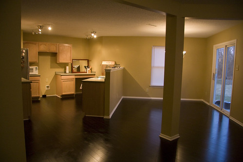 dining and kitchen after