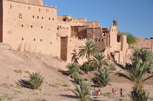 Kasbah in Ouzazate