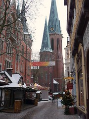 Lambertikirche Oldenburg (perspective-OL) Tags: city winter snow ice town december saxony ciudad alemania lower dezember der 2009 oldenburg ewe niedersachsen wissenschaften stdt bermorgenstadt
