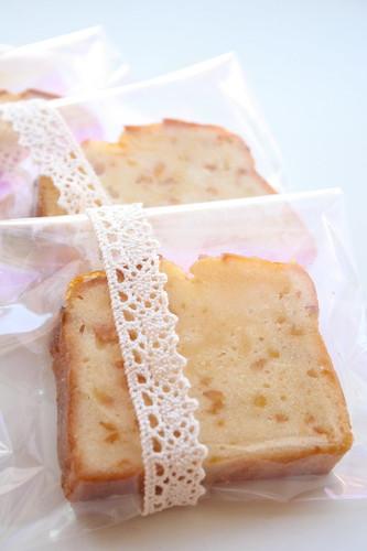 Yuzu pound cake