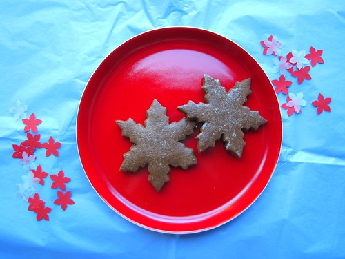 Sweetness gingerbread snowflake