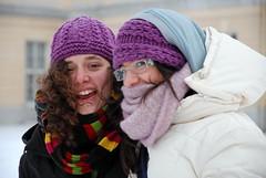Risate che scaldano il cuore. (CatastroF) Tags: claire gita amici inverno dicembre leti viaggio berlino schlosscharlottenburg cazzeggionellaneve siamopagliaccieneandiamofierixd