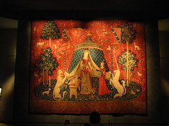 The Lady and The Unicorn tapestry (Sparky the Neon Cat) Tags: paris france museum lady de la europe du musee national age middle dame unicorn iledefrance ages cluny tapestry licorne moyen theladyandtheunicorn museedecluny museenationaldumoyenage ladamealalicorne