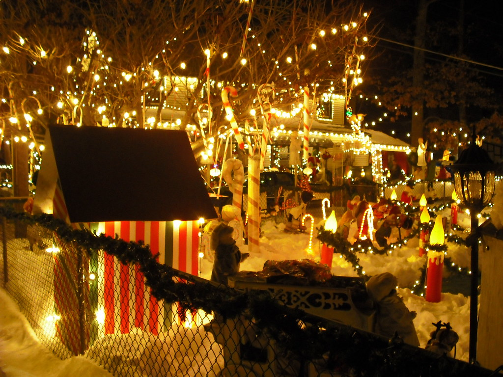 keeping the weird in christmas - Pitman Christmas Lights