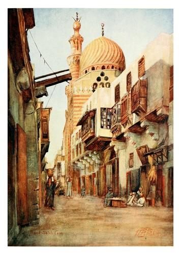 032-El Souk Selal bazar de los Armeros en el Cairo-Cairo, Jerusalem, and Damascus..1907- Margoliouth D. S.