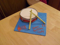 Snare Drum Cake (Hoo's Cakes) Tags: cake drum snare