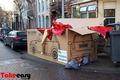 mini cooper 圣诞广告2